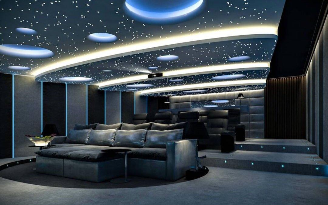 15 великолепных интерьеров с изображением неба на потолке для дизайна вашего дома