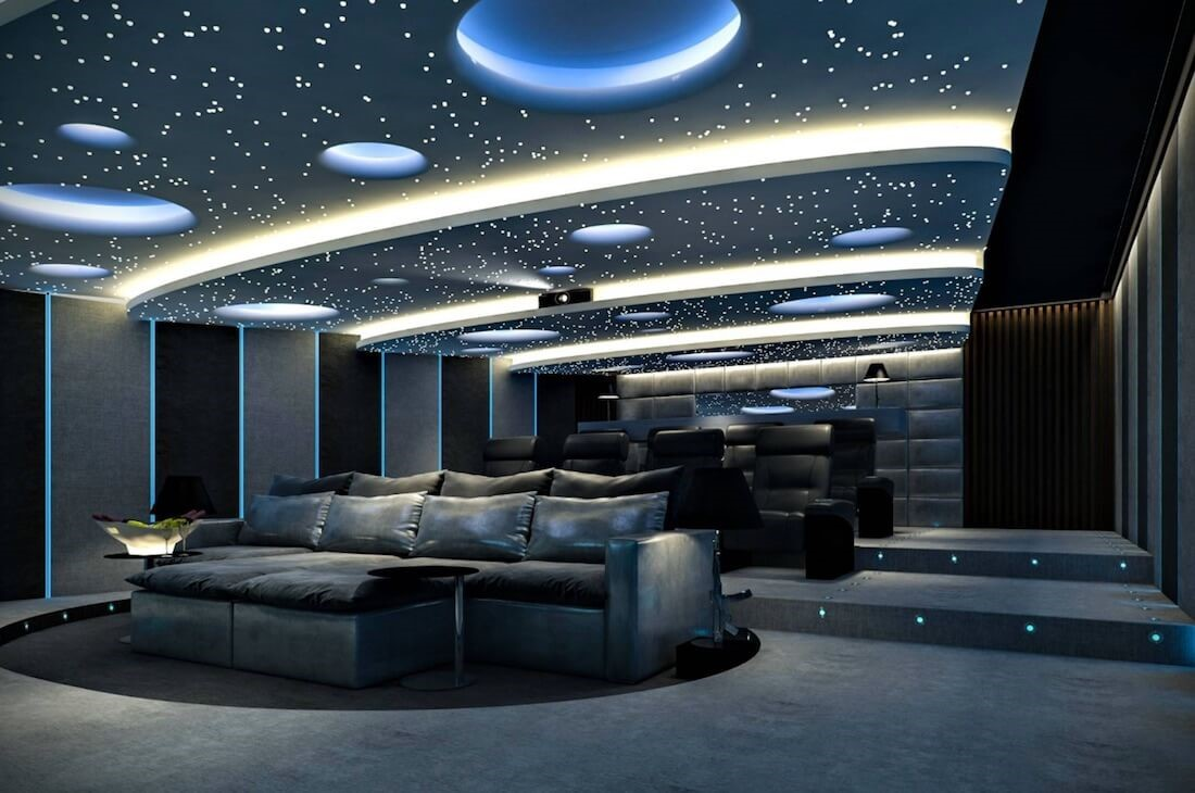 Звездное небо в домашнем кинотеатре