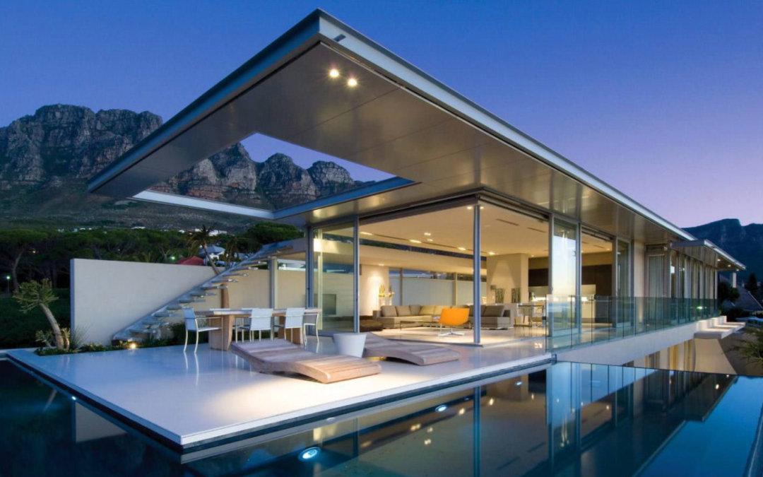 Вилла с панорамным видом в Южной Африке