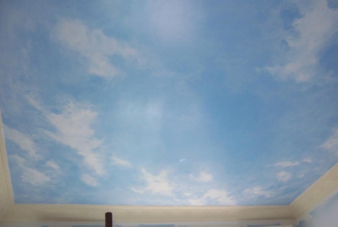 Дизайн неба на потолке
