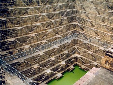 лестница в индии