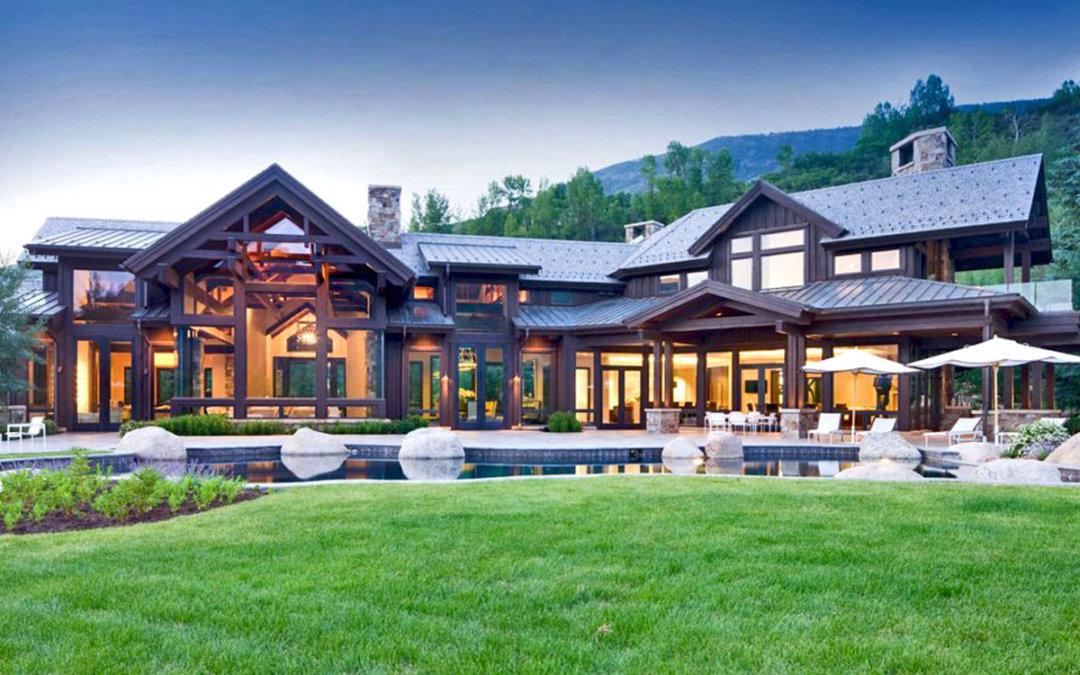 Великолепный дом в Аспене, штат Колорадо — шале Willoughby Way
