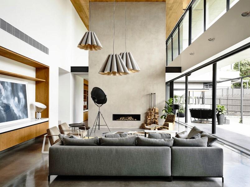 25 великолепных минималистских каминов для уюта вашего дома