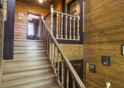 Дизайн деревянного дома из бруса. Фото