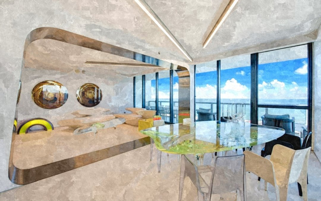 Квартира Захи Хадид в Майами рассказывает замечательную историю дизайна