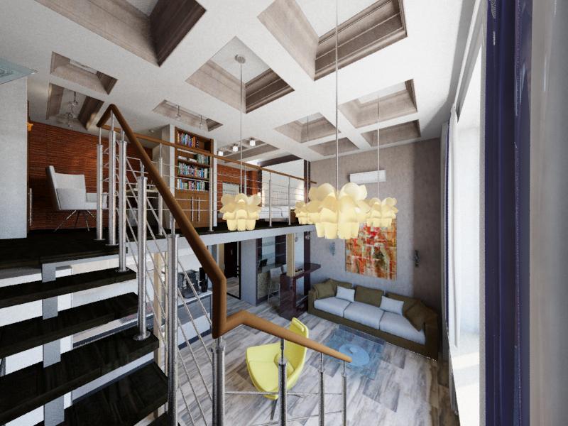 Дизайн интерьера апартаментов