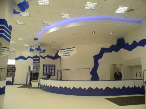 Дизайн интерьера магазина «Снежная Королева»