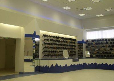Дизайн интерьера магазина в Москве