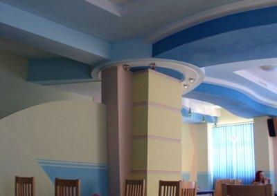 Стильный дизайн интерьера кафе