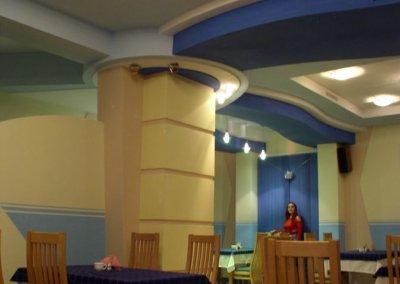 Дизайн проект интерьера кафе