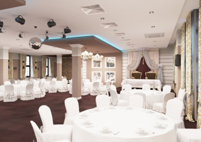 Дизайн интерьера ресторана.