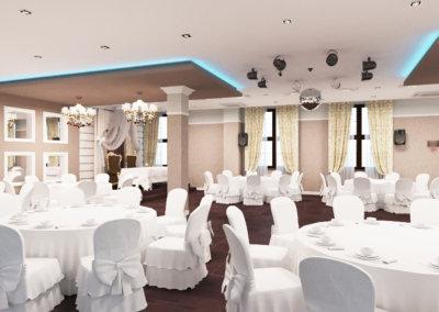 Дизайн интерьера ресторана. Москва