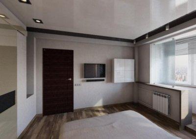 Дизайн проект квартиры в стиле минимализма