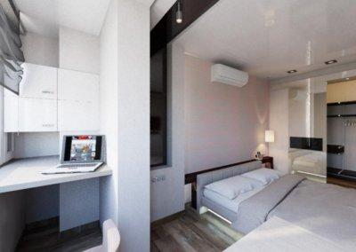 Дизайн комнаты в стиле минимализма