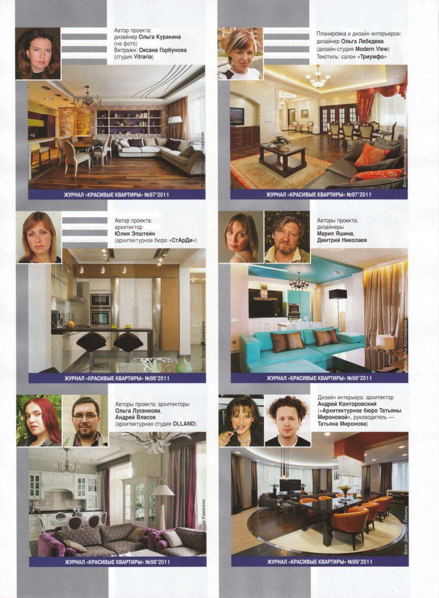 Красивые квартиры 8(98)-2011 — Легкость бытия