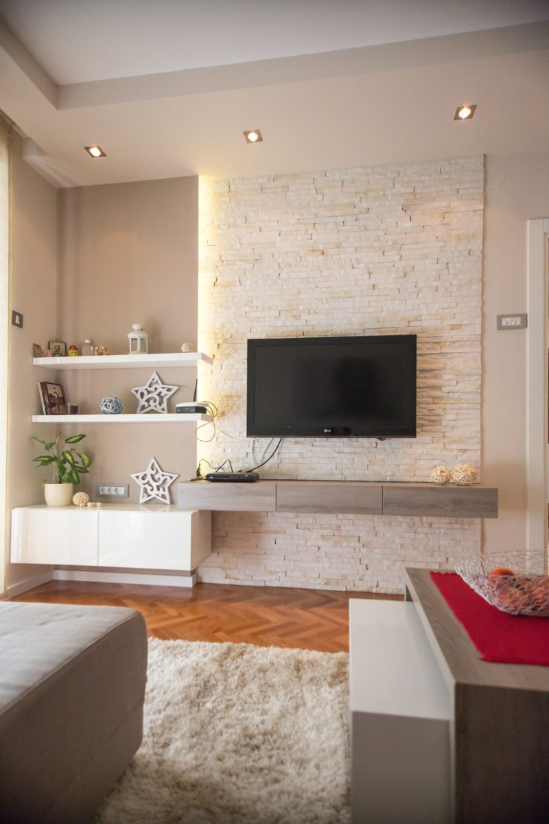 Дизайн квартиры в светлых тонах. Современный стиль.