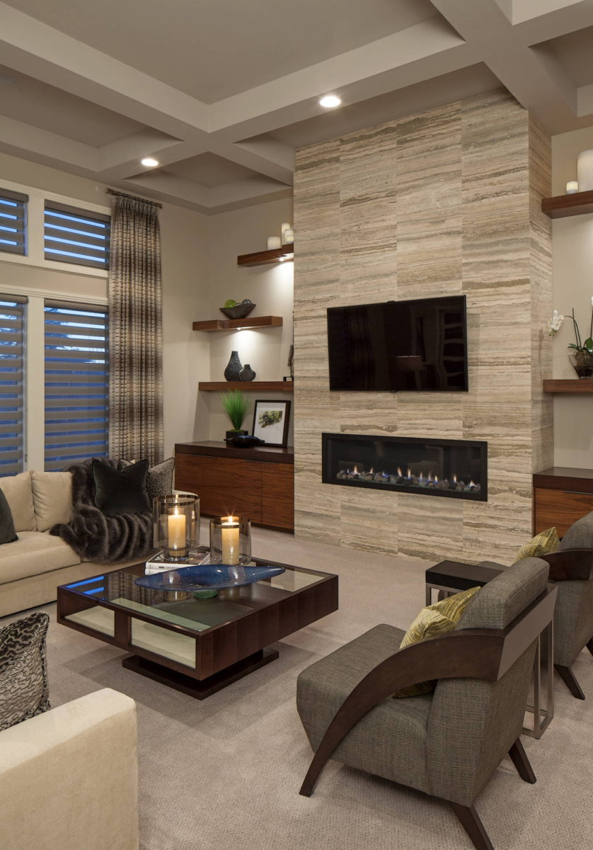 Современный стиль квартиры в светлых тонах