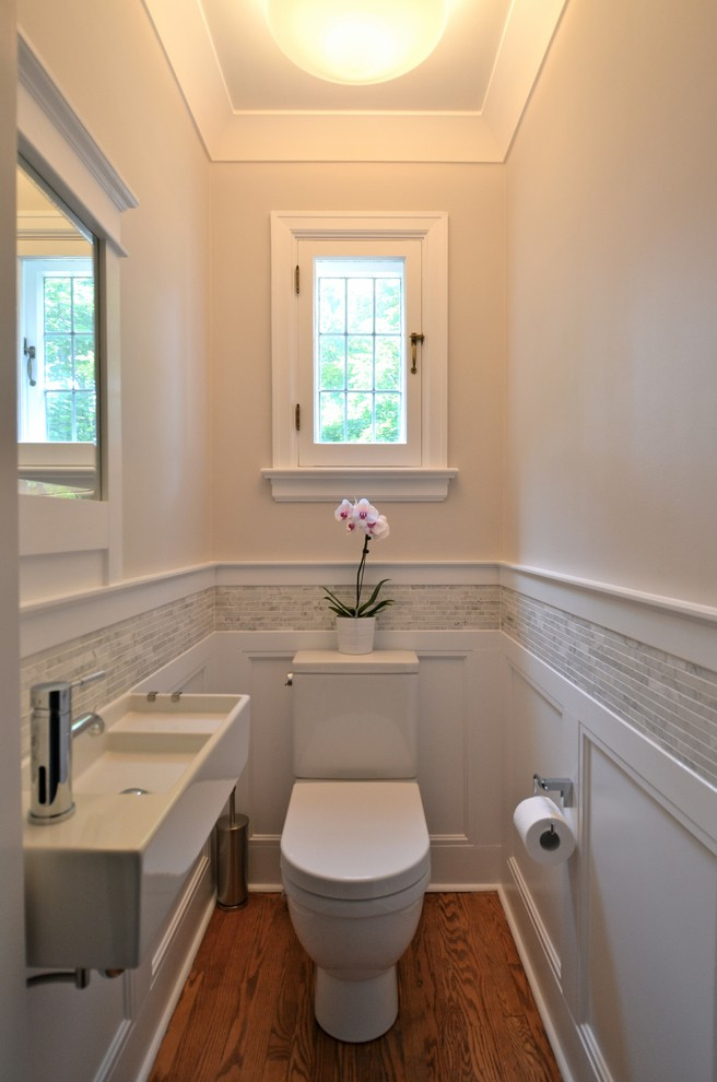 Дизайн светлого туалета