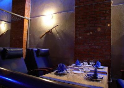 Дизайн интерьера клуба ресторана